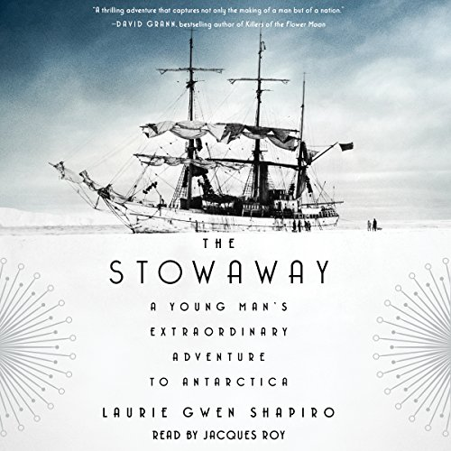 The Stowaway audiobook cover art