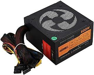 إمدادات الطاقة للكمبيوتر الشخصي - مزود طاقة ATX بقدرة 400 وات من Astro مع مروحة 120 مم تعمل بالتحكم الحراري تلقائيًا و115/...