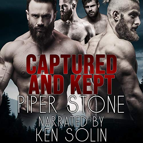Captured and Kept audiobook cover art