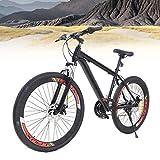 Fetcoi Mountainbike 26 Zoll 21 Gang Stadtrad Damen Männlich Fahrrad Trekking Bike Fahrrad Jungenfahrrad für Erwachsene,Jungen, Mädchen