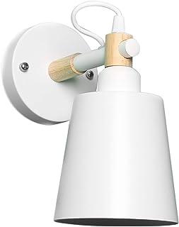 Minimalista y Moderno como la Cama Creativa de la lámpara de Pared del Corredor de la Escalera de la Moda Color : Blanco Oudan Lámpara de Hierro en la Pared Salón Las Habitaciones Color Blanco