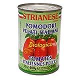 ストリアネーゼ 有機トマト缶 ホール 400g×24個