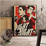 Klassischer Thriller Film Leinwand Poster Drucke Edward