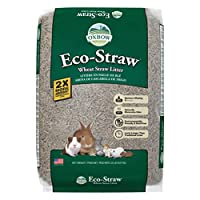 OXBOW PET PRODUCTS 448061 Eco-straw Small Animal Bedding for Pets, 20-Pound by Oxbow