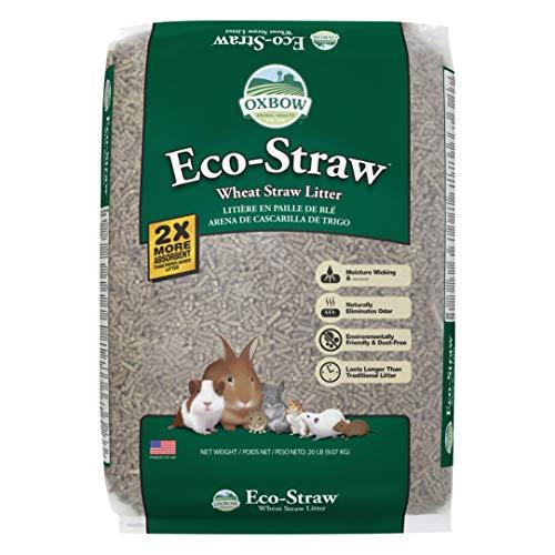 Oxbow Animal Health Eco-Straw Litter, 20 Pound Bag