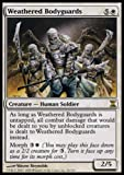 MTG Magic the Gathering Weathered Bodyguards Collectible Trading Card