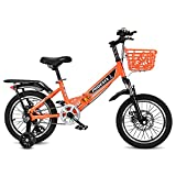 FUFU Bicicleta Amortiguadora De 16/18/20 Pulgadas, para Niños De 5 A 14 Años De Edad Y Niña.(Size:20in)