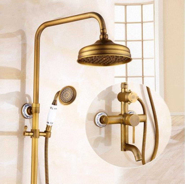 Suhang Dusche Dusche Dusche Antik Booster Dusche alle Kupfer Dusche, D