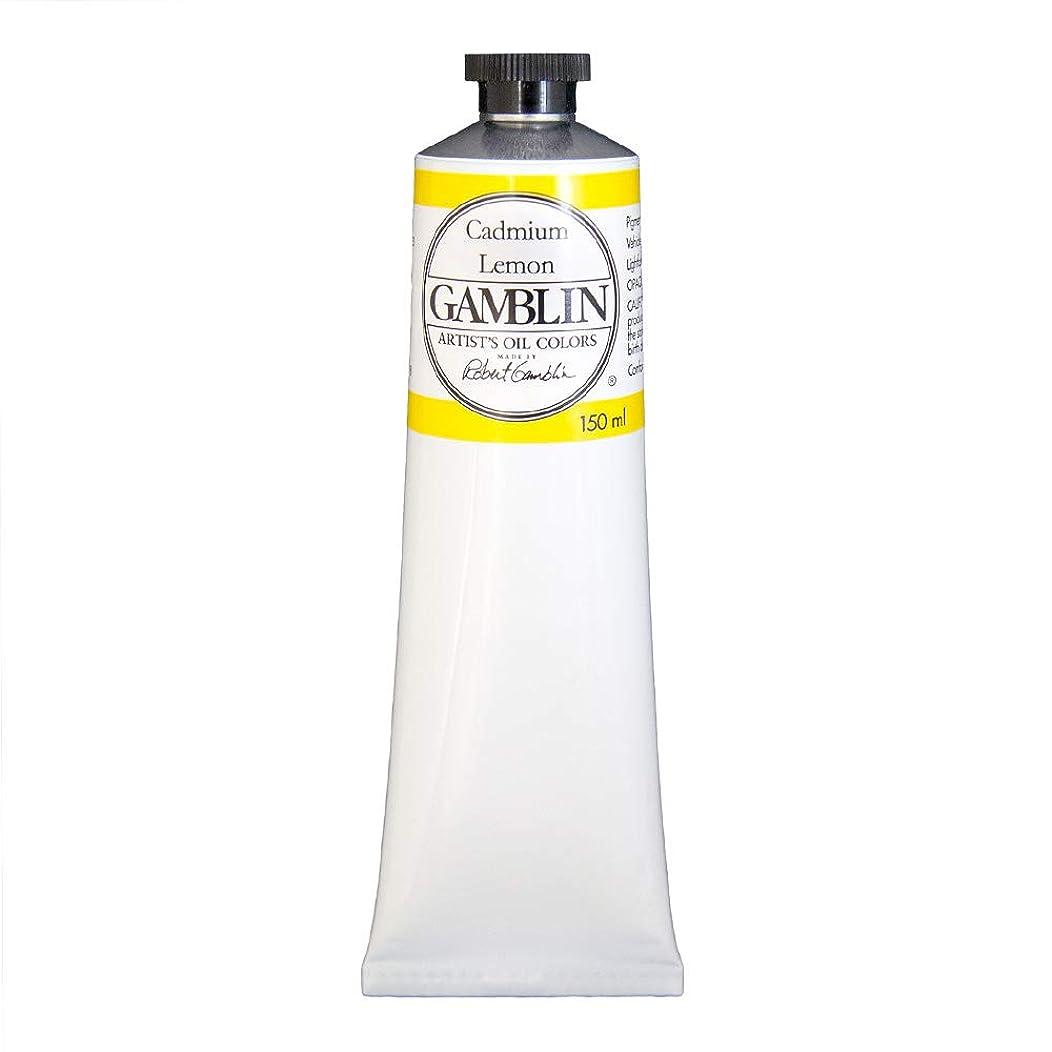 Gamblin Artists' Grade Oil Color Color: Cadmium Lemon 5 Ounce