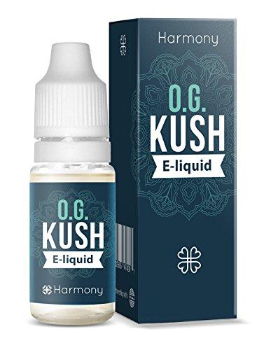 Harmony E-líquido de CBD (más de 99% pureza) - Terpenos de OG Kush -