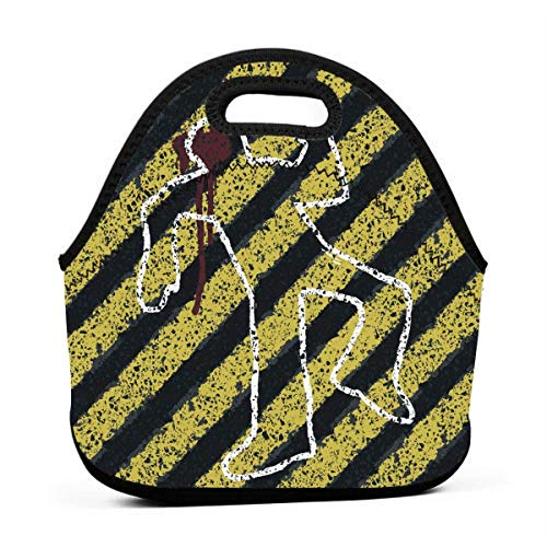 Neopren-Tragetasche mit Reißverschluss, für Picknick, Outdoor, Reisen, modische Handtasche für Damen, Herren, Kinder, Mädchen