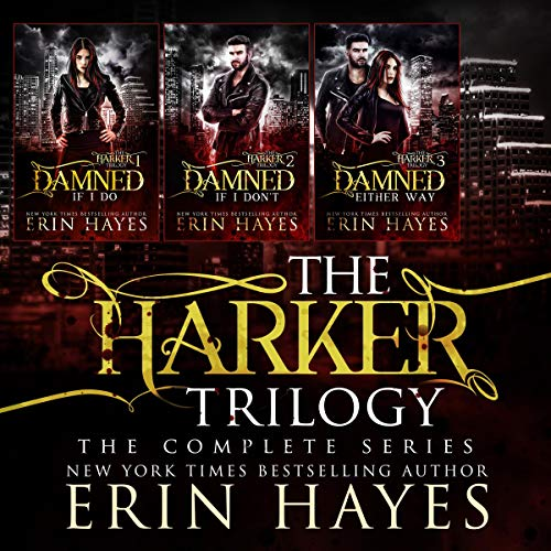 The Harker Trilogy cover art