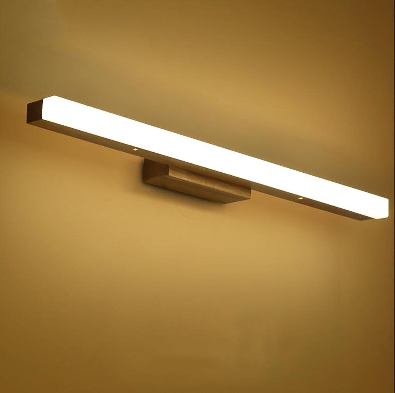 Popa Bad-Beleuchtung Spiegel vorne Licht   Simple Modern Spiegel vorne Licht   Wasserdicht Anti-Fog Badezimmer Badezimmer Spiegelleuchte (Warm Weiß) Spiegelfrontlicht ( Farbe   Weies Licht-S )