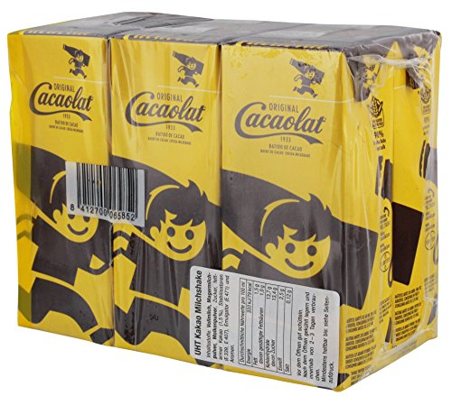 Cacaolat - Kakaogetränk Mini Tetra Pak Trinkschokolade Schokomilch - 6x0,2l