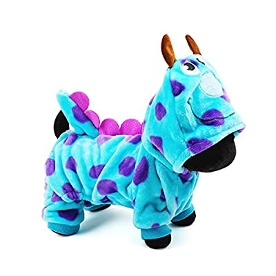 Aquiver Dog Pet Clothes, Cute Party Dress up,Dog Winter Clothing Coat Dragon Dog Hoody Clothes For Small Dogs (S)