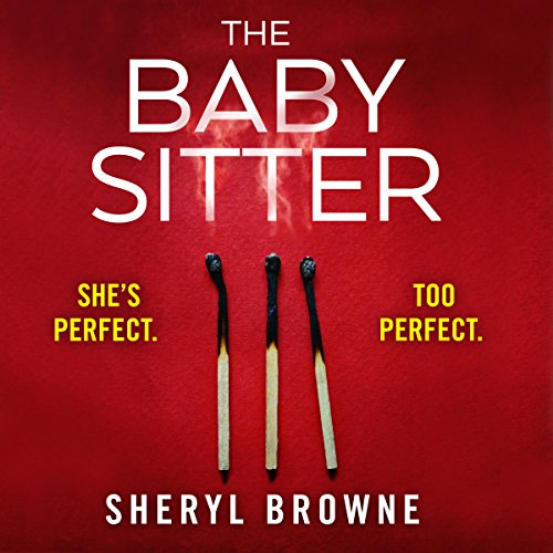 The Babysitter audiobook cover art
