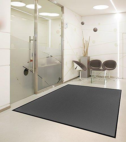 Premium Schmutzfangmatte Grau • Extra Stark & Waschbar 60°C • für Industrie, Gewerbe, Geschäft, Shop • 115x180cm