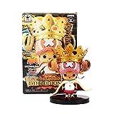 anzhcz Anime One Piece Figure Edition Crown Chopper Action Figure PVC Model Doll Toys 15Cm