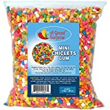 A Great Surprise Mini Chiclets - Chewing Gum - Gumball Machine Refills - Assorted Colors - Bulk Candy - 3 LB