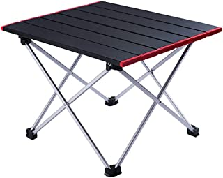 PORLAE Camping Table Foldable Portable Aluminum Tables with Carry Bag for Outdoor Camping Hiking and Picnic