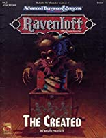 The Created (Advanced Dungeons & Dragons 2nd Edition, RM2) 1560766107 Book Cover