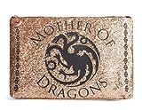 Juego de Tronos Maquillaje Bolsa Madre de Dragón Shimmer Oro Neceser Primark