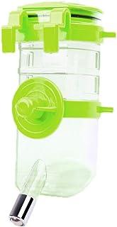 Dog Cat Drinking Bottle No Drip Hanging Pet Water Feeder Dispenser 350ML