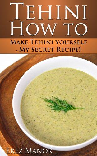 How to make - tahini dip (English Edition)