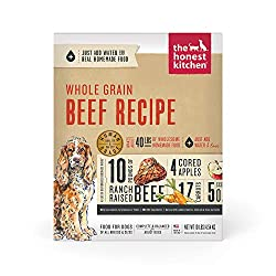 The honest kitchen dog food whole grain beef