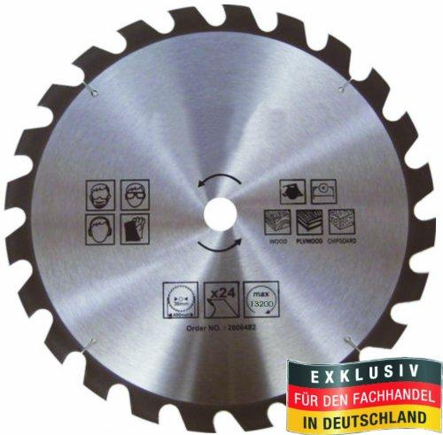 Masterproof lame de scie circulaire 100 mm-spécial trempé, 24 dents pour bois, handkreis et scie circulaire de table)