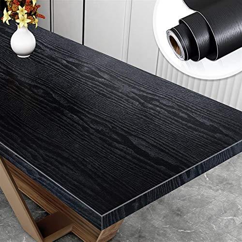 Impermeable fácil aplicación fondo de pantalla ext Grano de madera pegatinas de pared auto adhesivo impermeable del papel pintado del PVC de Cocina Armario Pegatinas Sala de escritorio Decoración
