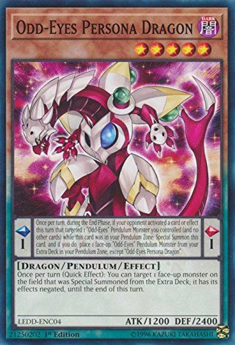 Odd-Eyes Persona Dragon - LEDD-ENC04 - Common - 1st Edition - Legendary Dragon Decks (1st Edition)