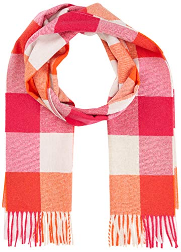 GANT Damen MULTI CHECK SCARF Mode-Schal, LOVE POTION, Onesize