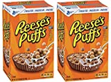 Reeses Puffs, Peanut Butter Cereal, 49.5 Ounce (Pack of 2)
