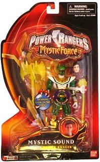 Power Rangers Mystic Force Sound Action Figure Green Power Ranger