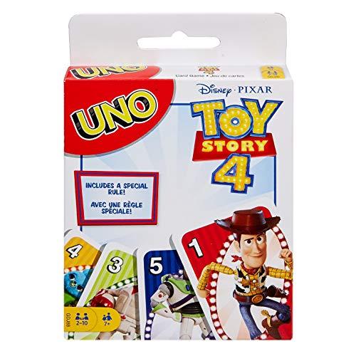 Uno Disney Pixar Toy Story 4