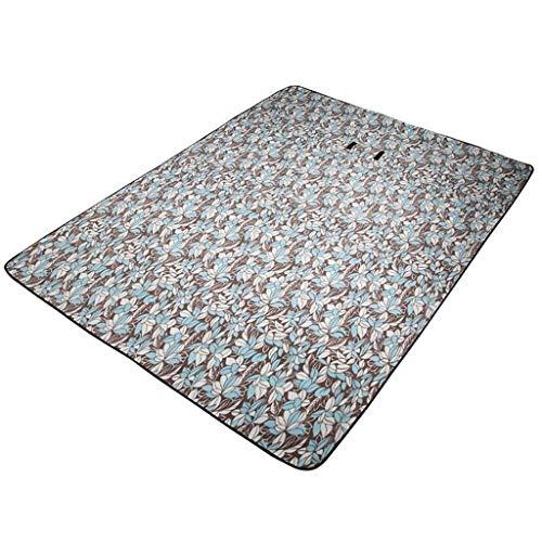 YFFSS Couverture Picnic, Grand extérieur imperméable à l'eau de pique-nique couverture pliable pratique sac fourre-tout Compact tapis de preuve de sable lavable for la plage Voyage Camping sur l'herbe
