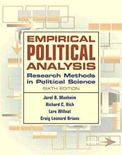 Empirical Political Analysis: Research Methods in Political Science (6th Edition)