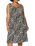 Dorothy Perkins Curve Crinkle Button Cami Midi Dress Leopard Print Vestido, Beige (Neutral 861), 46 (Talla del Fabricante: 18) para Mujer