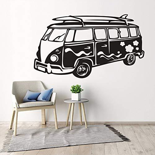 yaonuli Surf camper van muur sticker reizen bus vinyl auto decal surf wave camper van verwijderbare