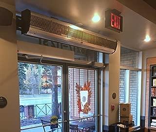 Air Door - Heated Air Barrier - 72 in. (1800mm) width - Voltage: 220 (3 Phase)