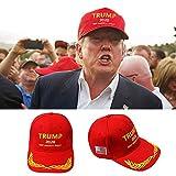 1ピースMAGAトランプキャップ、ドナルドトランプキャップ、アメリカの素晴らしいトランプ2020帽子を保つ - トランプ大統領の帽子が補う 005,red