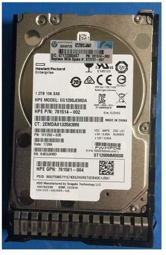 Hewlett Packard Enterprise 872737 001 Interne Festplatte 25 Zoll 1200 GB SAS Interne Festplatten 25 Zoll 1200 GB 10000 RPM