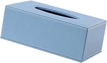 Yllang Blue Servet Case Auto Tissue Box Accessoire for Office Hotel Restaurant Stylish Home Decoration