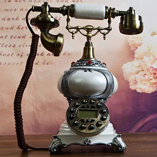 GDFEH Teléfono Fijo Vintage Retro Estilo Europeo, Teléfono, Estilo Americano, Creativo [Retro],...