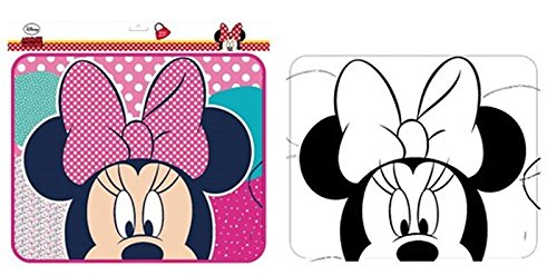 Disney Minnie Mouse Auto Sonnenschutz / Sonnenprotektor 1 Paar (2 Stück)