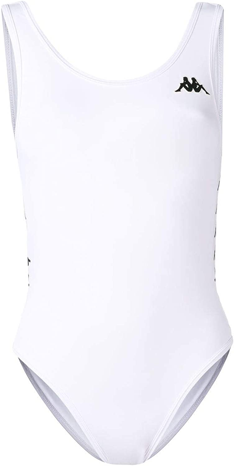 Kappa Women's 303WCK0980 White Polyester OnePiece Suit