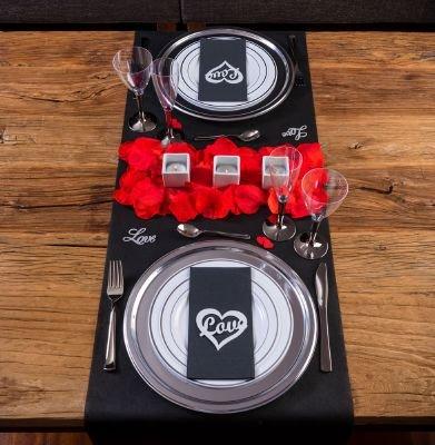 LOVERSpack Romantic Pack Angus - con Este Pack romántico podrás Decorar tu Mesa y sorprender a tu Pareja con una Cena romántica en casa o en un Hotel. ¡Regala Momentos Especiales!