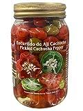 Encurtido de ají cachucha- Pickled Cachucha pepper- Sweet pepper- Aji dulce encurtido