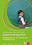 Sprachförderung PLUS: Förderbausteine für den Soforteinsatz im Regelunterricht der Grundschule. Deutsch - Mathematik - Sachunterricht. Deutsch als Zweitsprache